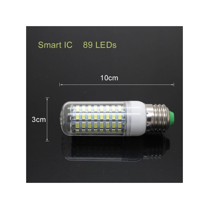LED PIRN E27 230V 16W 89 SMD5730 LED CORN KLAASIGA