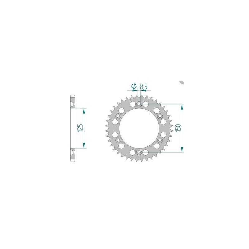 KETIRATAS R897-50AL TAGUMINE KTM