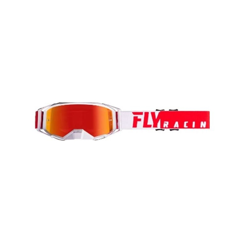 KROSSIPRILLID FLY ZONE PRO PUNANE/VALGE RED MIRROR