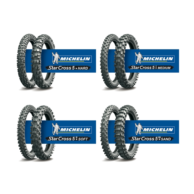 REHV 90/100-21 51M TT MICHELIN STARCROSS 5 SOFT