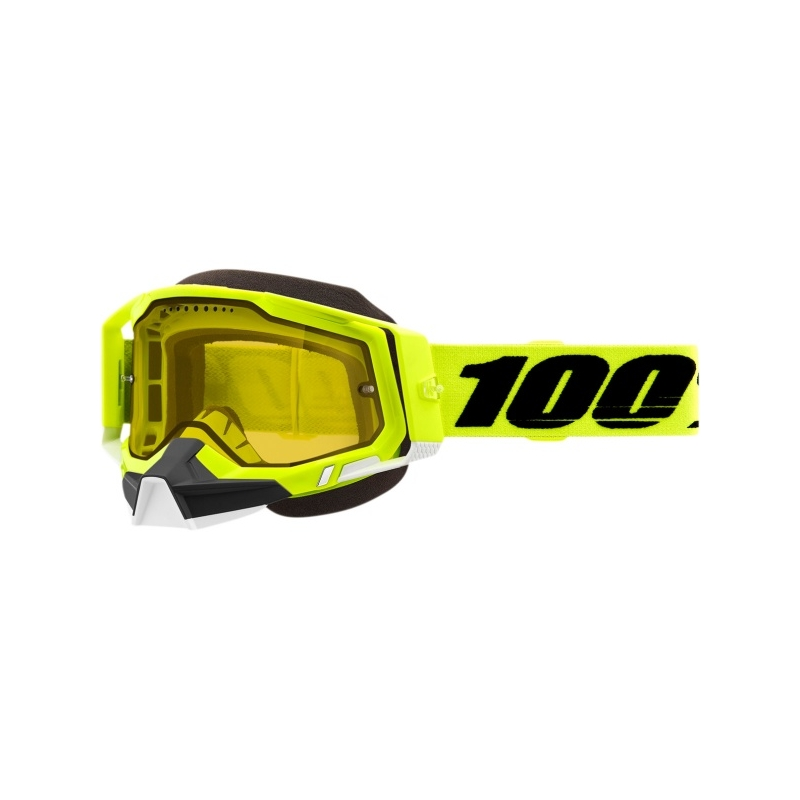KROSSIPRILLID 100% GOGGLES YELLOW LENS