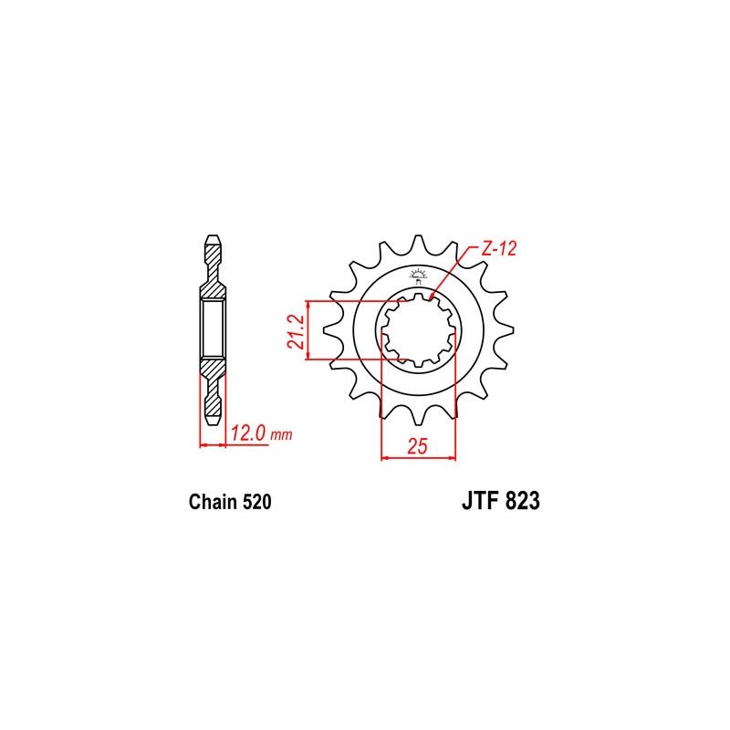 KETIRATAS F823-15T EESMINE JT