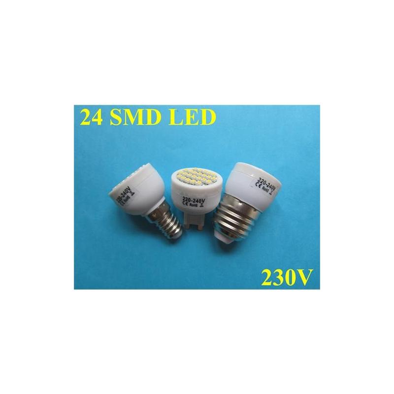 LED PIRN E14 1.8W 230V SUUNATUD SOE VALGE