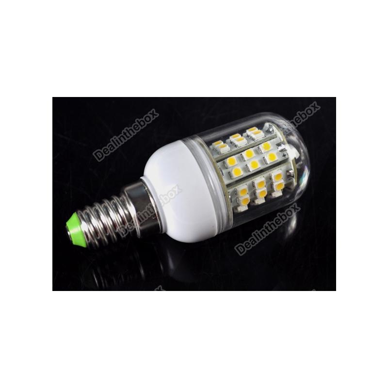 LED PIRN E14 1.8W 230V 3528 48 LEDI CORN SOE VALGE