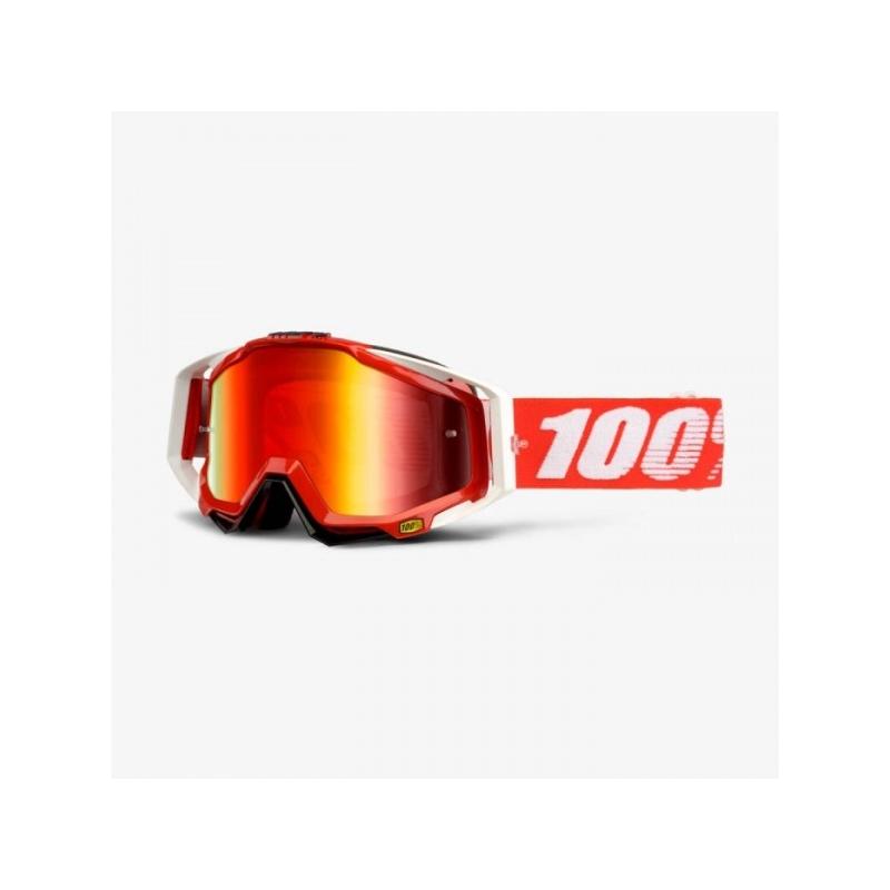 KROSSIPRILLID 100% RACECRAFT  FIRE  RED MIRROR