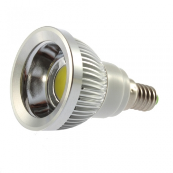 LED PIRN E14 3W 230V COB LED KÜLM VALGE SUUNATUD