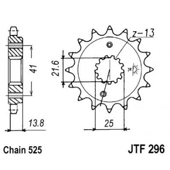 KETIRATAS F296-15T EESMINE JT