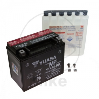 AKU YTX12-BS 12V 10Ah 180A 150X87X130 +/- YUASA