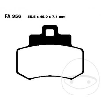 PIDURIKLOTSID EBC SFA356 SCOOTER