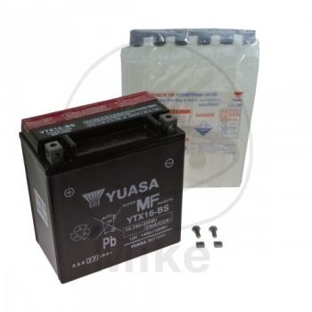 AKU YTX16-BS 12V 14Ah 230A 150X87X161 +/- YUASA