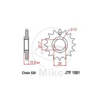 KETIRATAS F1581-16T EESMINE JT