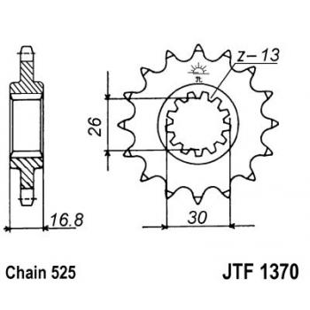 KETIRATAS F1370-15T EESMINE JT