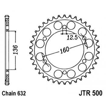 KETIRATAS R500-40T TAGUMINE JT