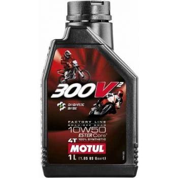 MOTUL 300V2 FACTORY LINE RR OR 10W50