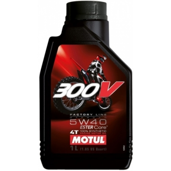 MOOTORIÕLI 4T MOTUL 300V FACTORY LINE OFF-ROAD 5W-40