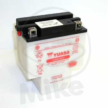 AKU HYB16A-AB 12V 16Ah 210A 152x92x182 +/- YUASA HONDA VT1100C