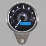 TAHOMEETER ELEKTROONILINE SEIERIGA 60MM 8000 RPM VALGE LED TAUSTAVALGUS DAYTONA VELONA