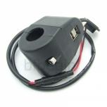 VOOLUPESA USB x2 5V/1A/2A 12V-24V JUHTRAUALE