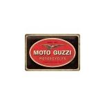 SILT RETRO MOTO-GUZZI 20X30CM