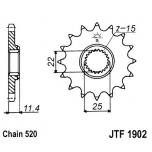 KETIRATAS F1902-17T EESMINE JT
