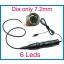 ENDOSKOOP MEHAANIKULE D7.2 MM KAAMERA 6 LED VALGUSTIGA USB VEEKINDEL