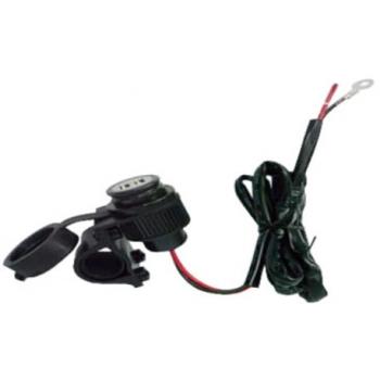 USB VOOLUPESA SÜVISTATAV KAANGA  2*USB 12V-> 5V/2Ah