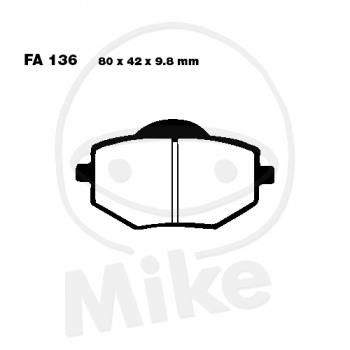 PIDURIKLOTSID EBC FA136 STANDARD
