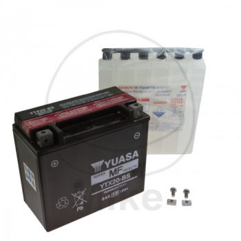 AKU YTX20-BS 12V 18Ah 270A 175X87X155 +/- YUASA