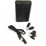 USB TOITEALLIKAS POWER BANK LED TASKULAMBIGA (3 X 18650 AKUT EI OLE KPL)
