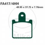 PIDURIKLOTSID EBC SINTER FA417/4HH (4 KLOTSI KOMPLEKT)
